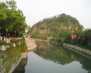 Guilin Peach Blossom River